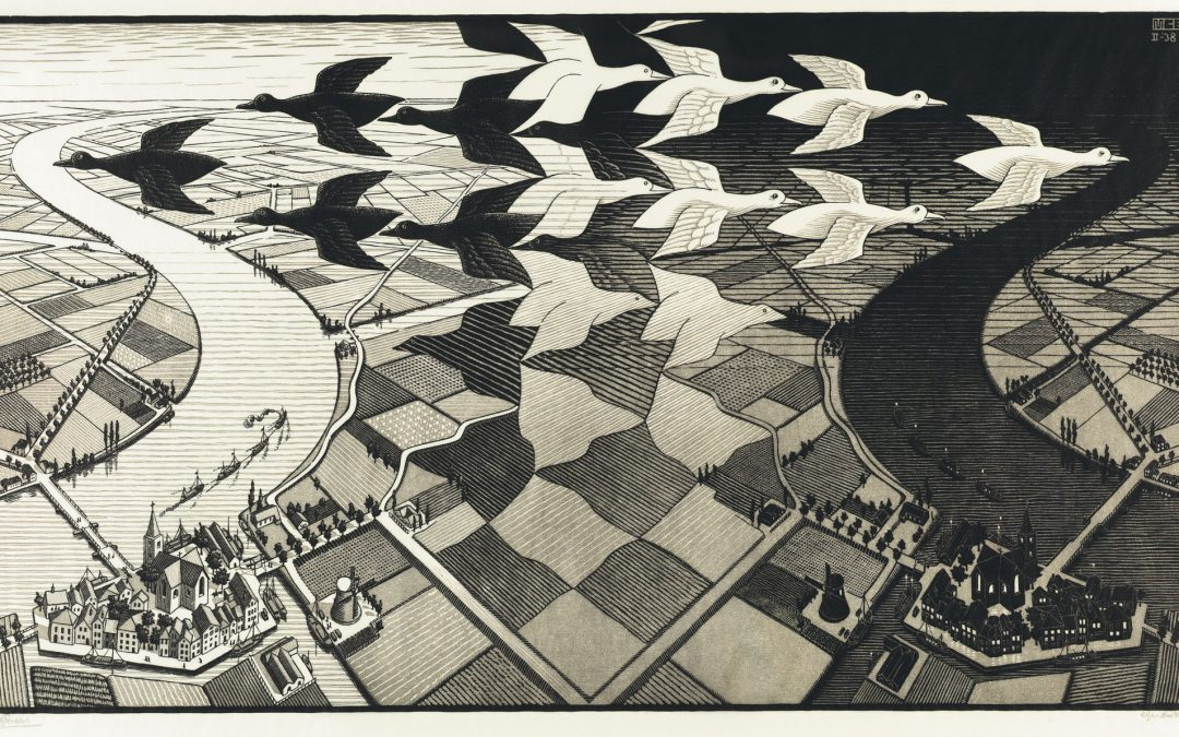 Pitter Patter- Escher: Journey into Infinity